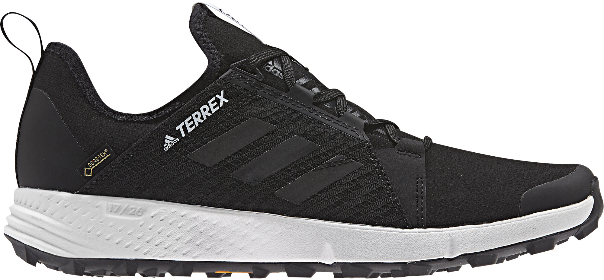 best website 00117 0d8fe adidas TERREX Agravic Speed GTX Running Shoes Men black